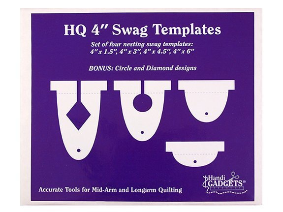 Handi Quilter Ruler Set 4in Swags