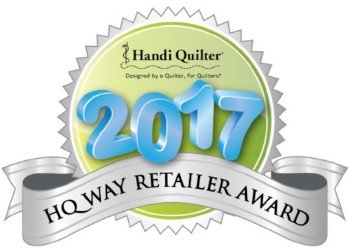 HandiQuilter Way Award Winner 2017