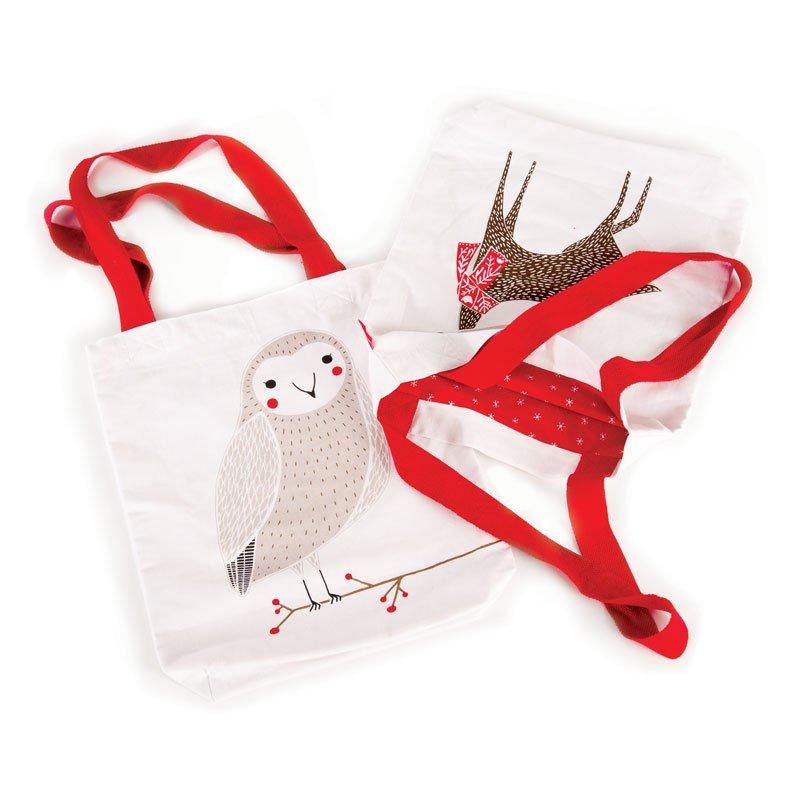 Merriment Tote Bag - Owl