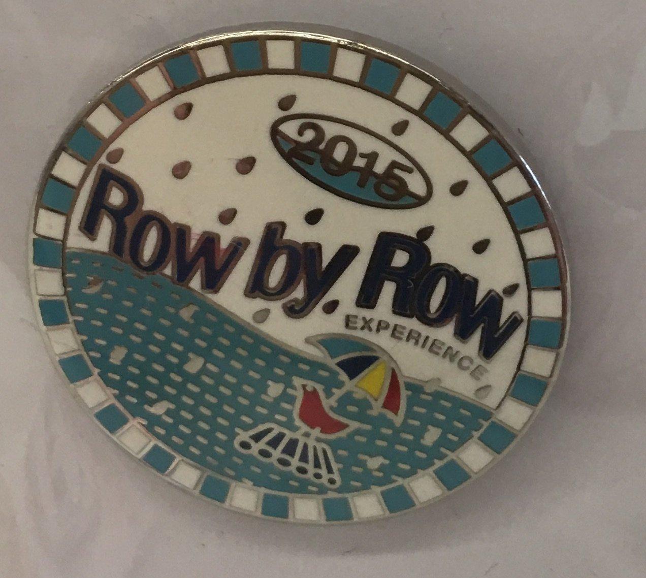 Row By Row 2015 - Logo Pin Round