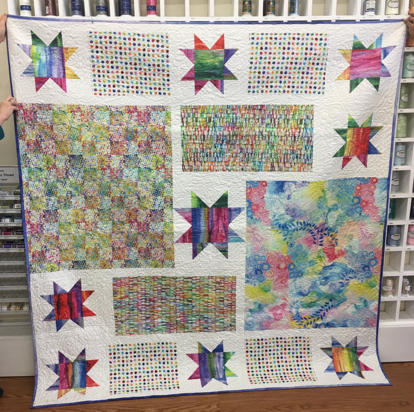 Daydreams Sample Quilt