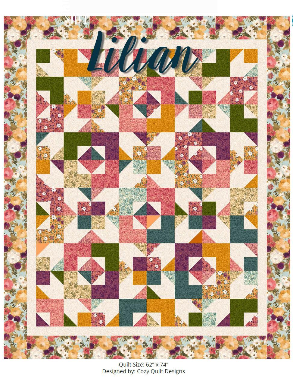 Lilian Quilt kit