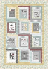 Live By Love Quilt Kit