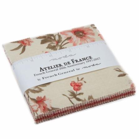 Atelier De France - Charm Pack (42) 5 in squares