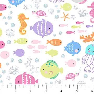 Mermaid Wishes - White Sealife