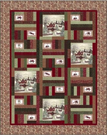 Once Upon A Memory Quilt Kit by Holly Taylor