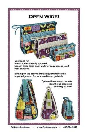 Open Wide Bag Pattern