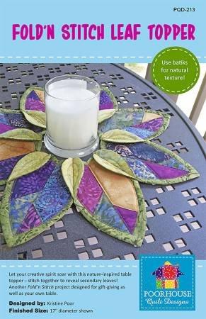 Fold N Stitch Leaf Topper