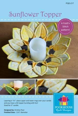 Sunflower Topper Pattern