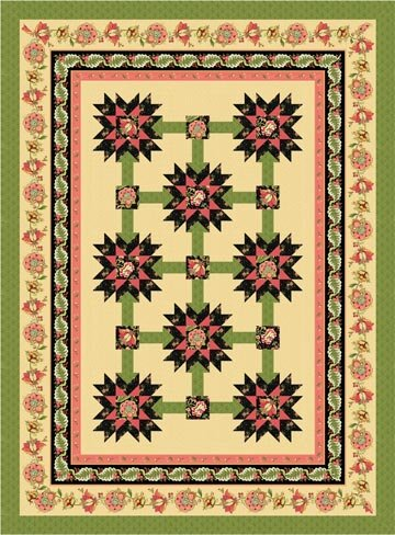 Tapestry Manor Quilt Pattern