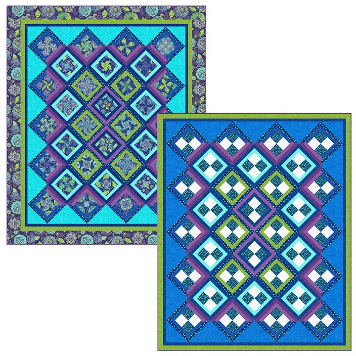 4 Patch Party Pattern