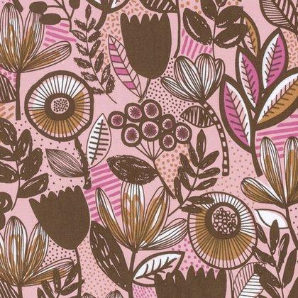 Intermix Britta Petal - Pink / Brown