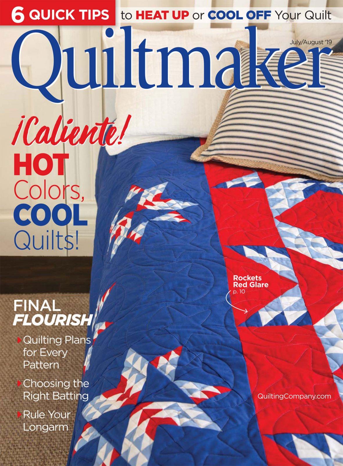 Quiltmaker Magazine July/August 2019