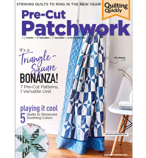 Pre-Cut Patchwork Jan/Feb 2019