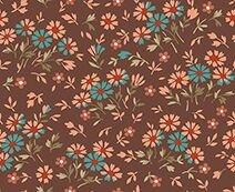 Bethel - Brown Mini Floral