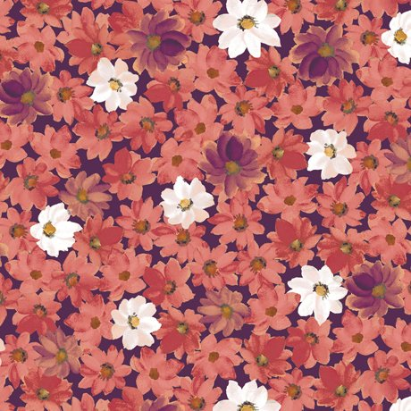 Lilian - Plum Packed Floral