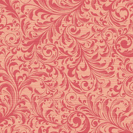 Lilian - Pink Textured Scroll