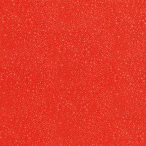 Hopscotch Random Dots - Deep Coral