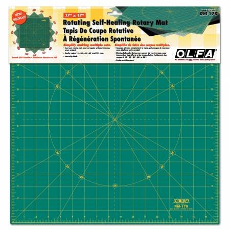 Rotating Square Cutting Mat 17 in