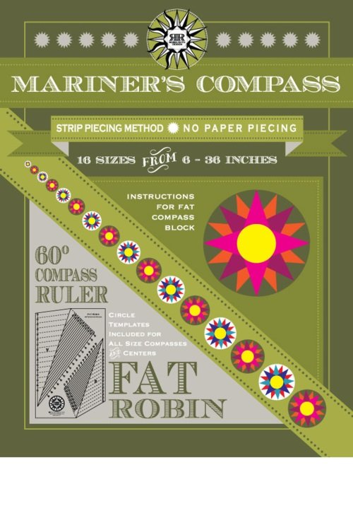 Fat Robin Ruler and Book Set
