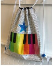 Row by Row Junior - Piano Keys Tote Kit