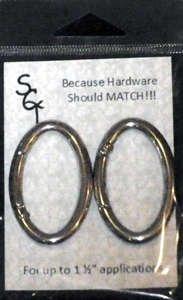 1 1/2 Nickel Spring Ring