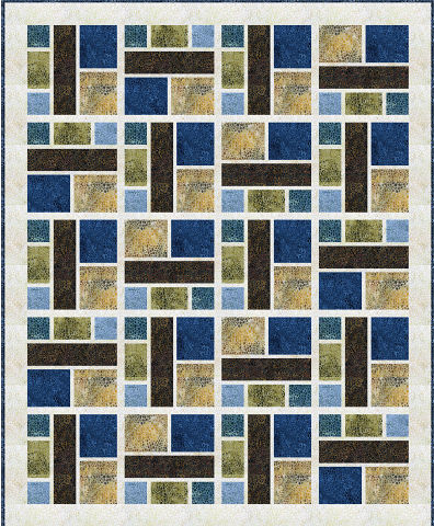 Sea Glass Quilt Kit