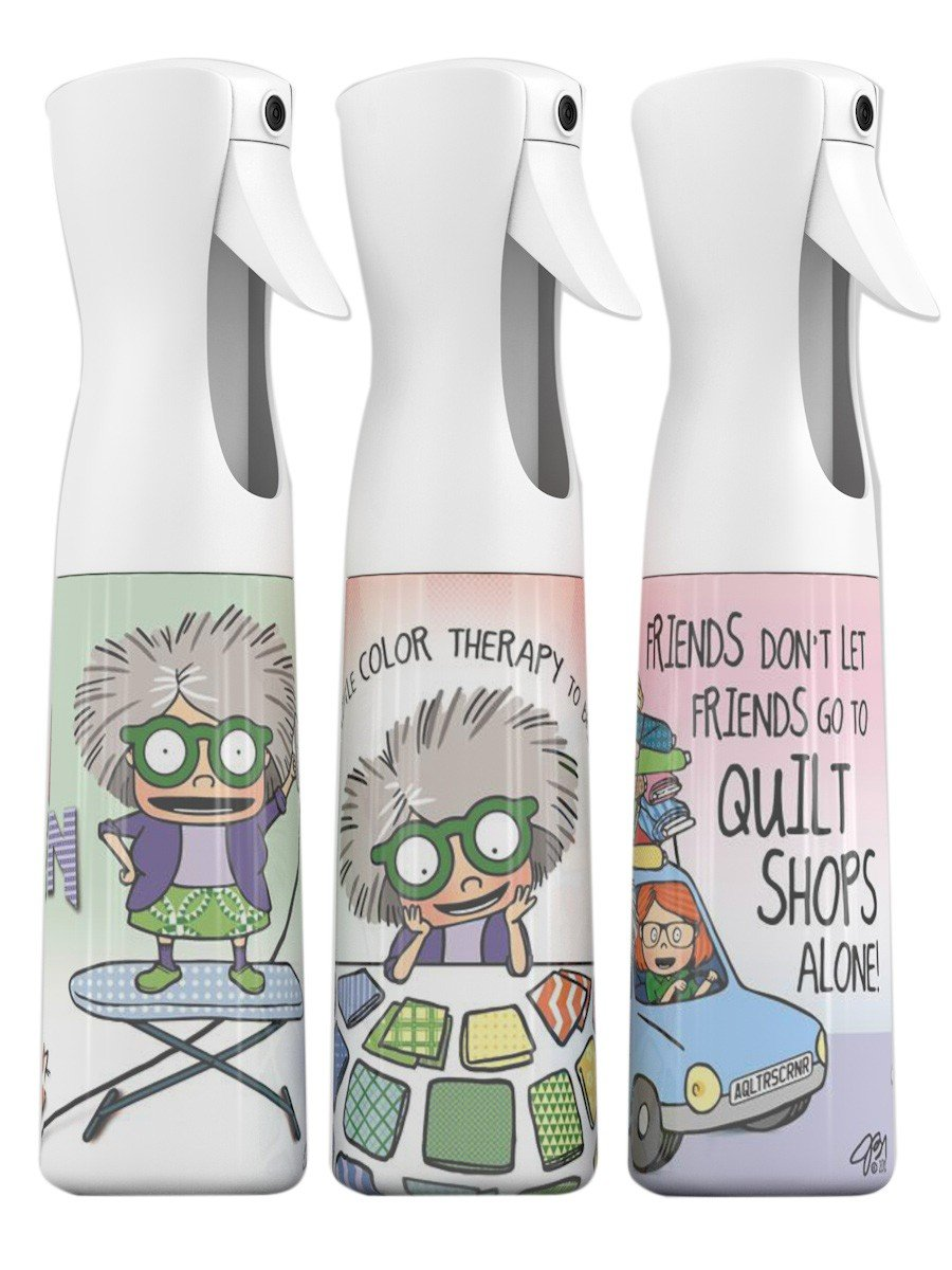 Mrs Bobbins Spray Misting Bottles with Designs
