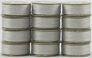 #623 Silver - Prewound L SuperBobs- 1 dozen