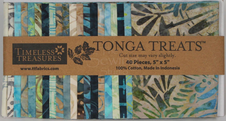Tonga Treats Mini's Oceana 5in Squares