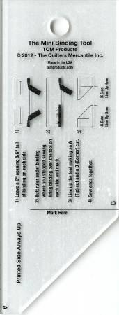 The Binding Tool Template Ruler