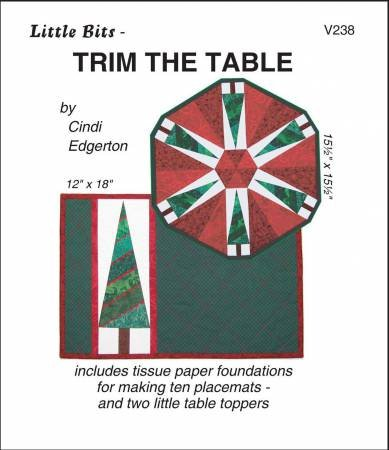 Little Bits Trim the Table