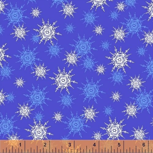 O Christmas Tree - Snowflakes Blue