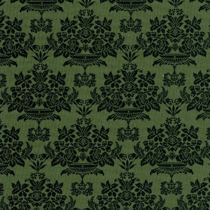 Baroque - Medium Green (108 in wide)