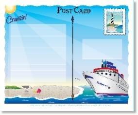 Cruisin' Postcard