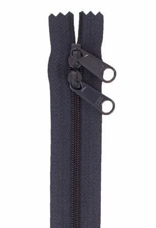 Handbag Zipper 40in Navy