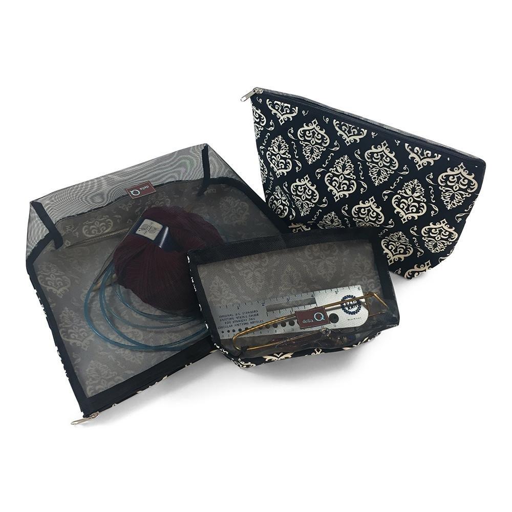 Della Q Mesh & Cotton Zip Collection