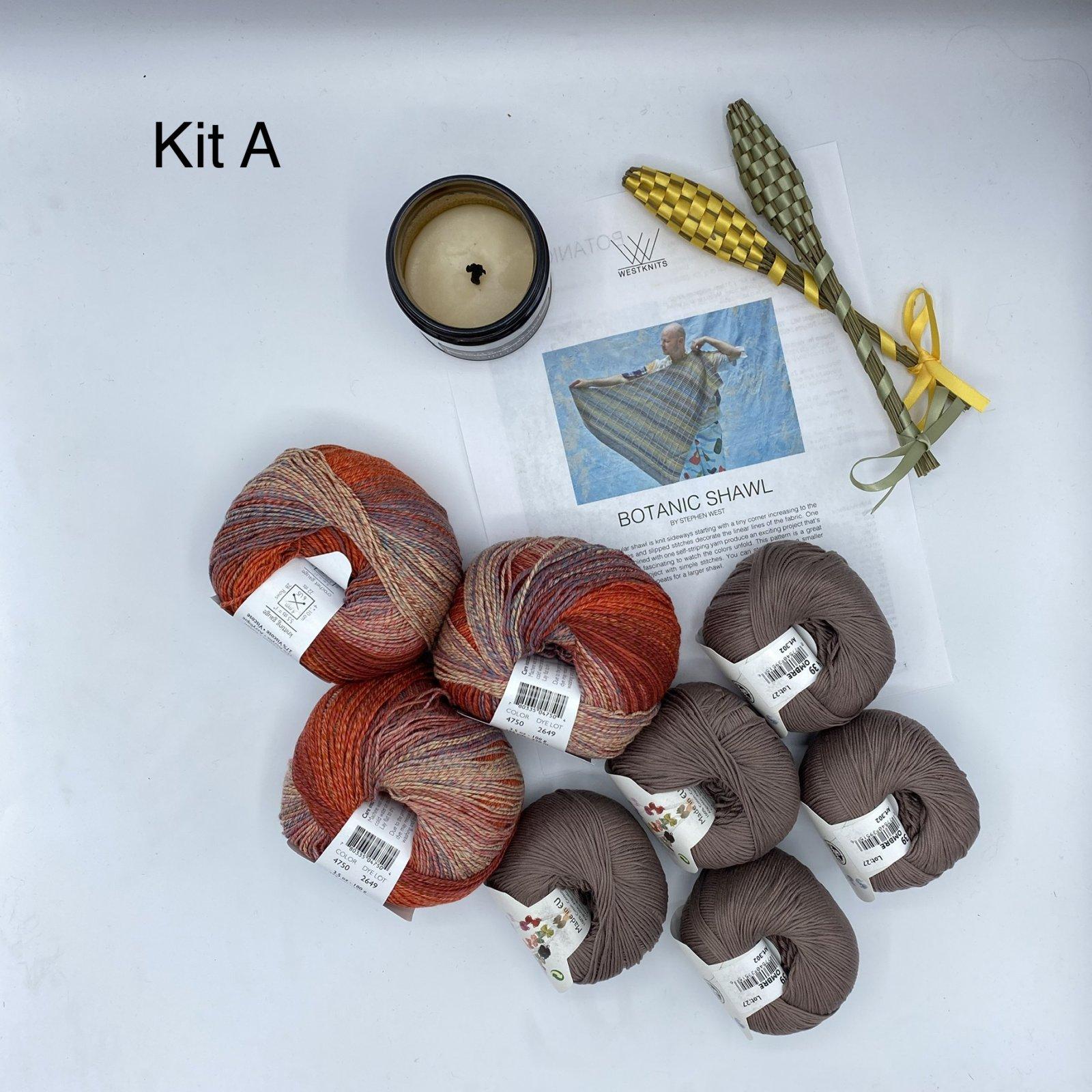 Botanic Shawl Cotton Blend