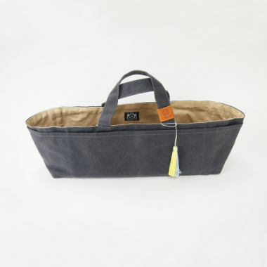 Cohana Waxed Canvas Tote Bag
