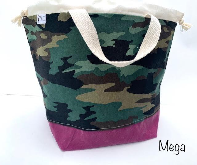 Black Purl Magic Bags - Mega
