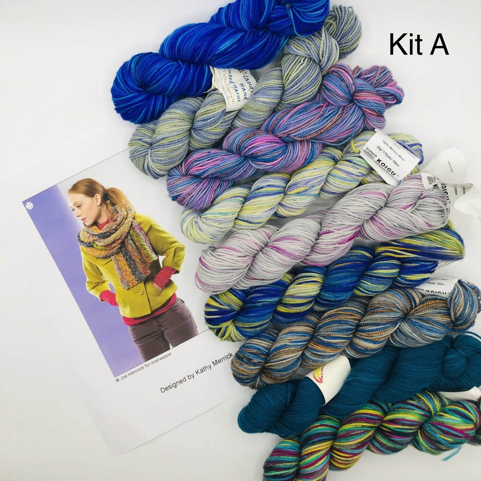 Chain Lace Big Fat Scarf Kits