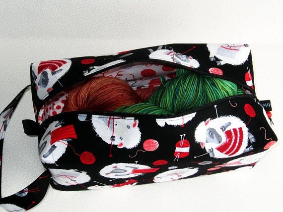 Bigger Boxy Bag by ZigZagStitches