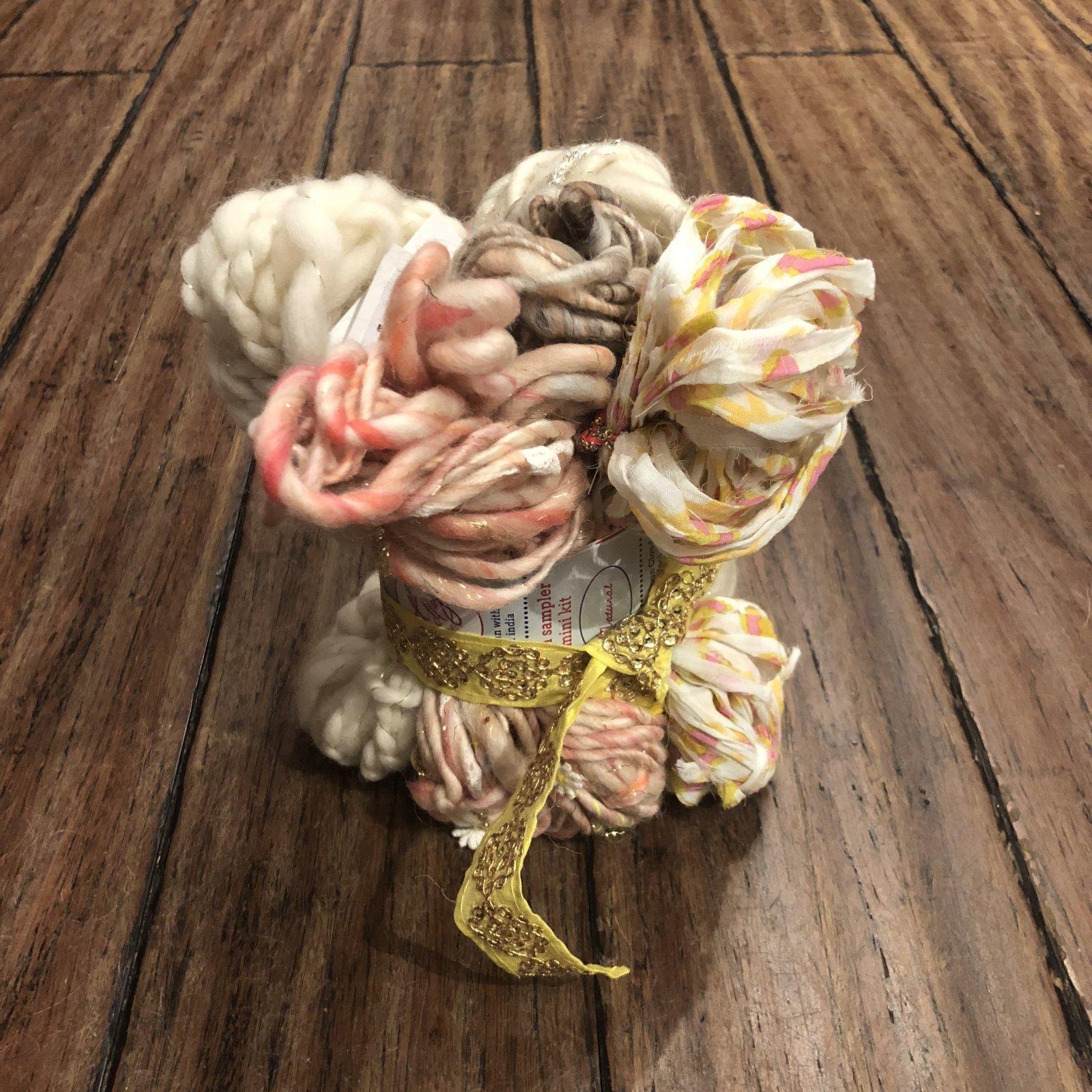 Knit Collage Sampler Kit