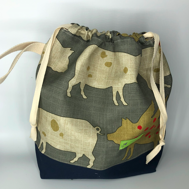Purdy Girl Drawstring Project Bags