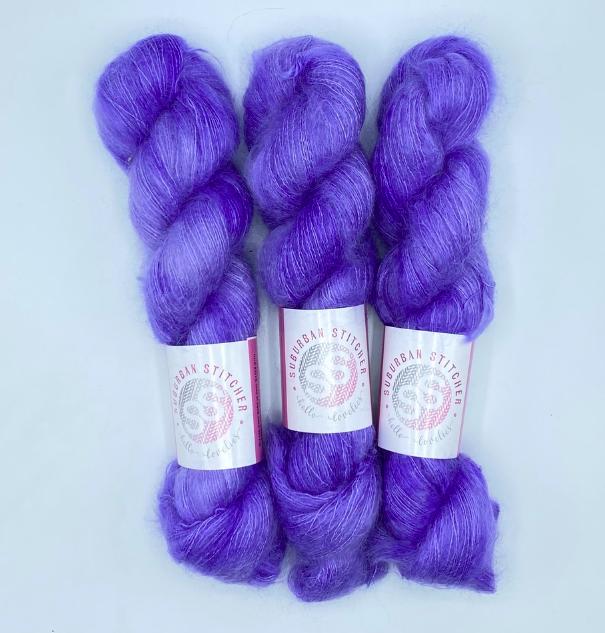 Suburban Silky Mohair Lace Yarn