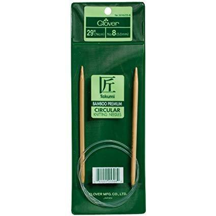 29 Takumi Bamboo Circular Knitting Needle