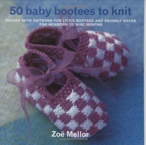 50 Baby Bootees to Knit