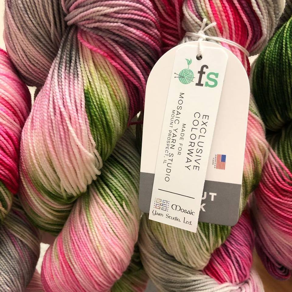 April Showers Bring May Flowers: LYS Day 2019 Mosaic Exclusive