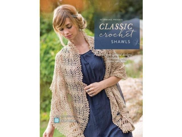 Classic Crochet Shawls: 20 Enduring Designs Featuring Lace, Color, and More