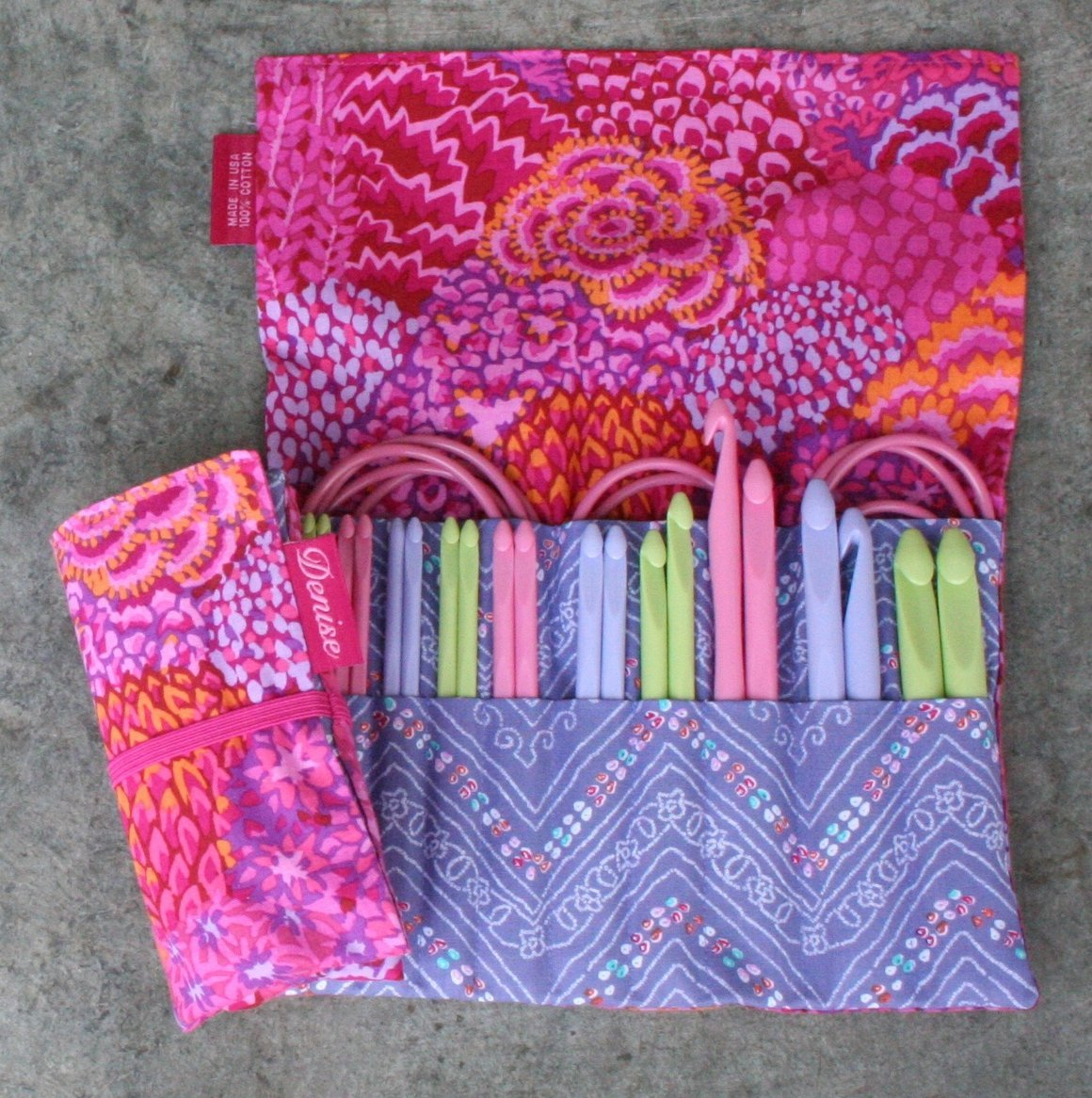 Denise2Go Crochet for a Cure 2-hook Set
